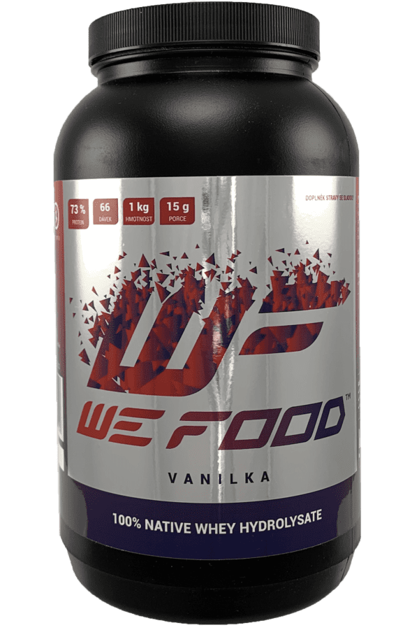 100% Natívny Hydrolyzát + DigeZyme 1kg vanilka