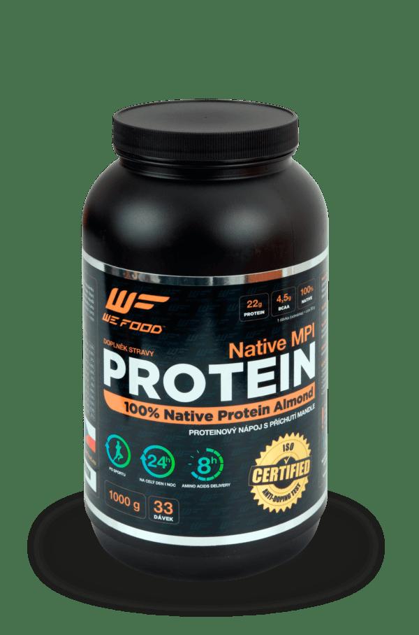 100% Natívny mliečny proteín + DigeZyme ochutený 1kg mandľa