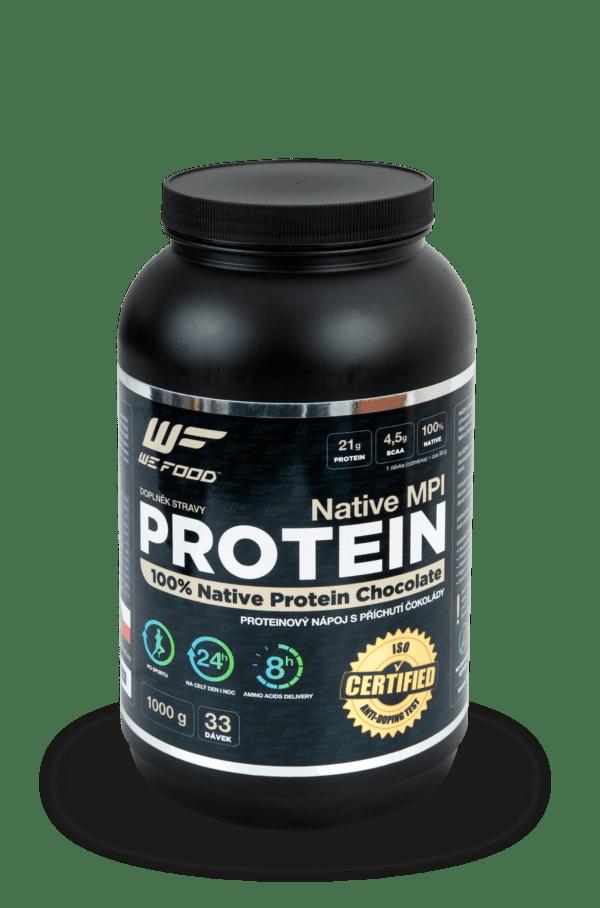100% Natívny mliečny proteín + DigeZyme ochutený 1kg čokoláda