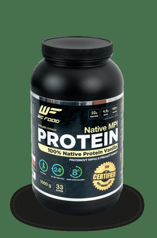 100% Natívny mliečny proteín + DigeZyme ochutený 1kg vanilka
