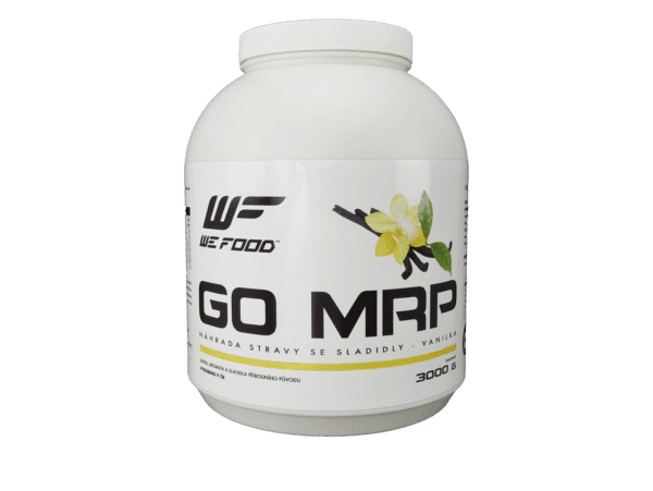 Náhrada stravy GO MRP 3kg vanilka