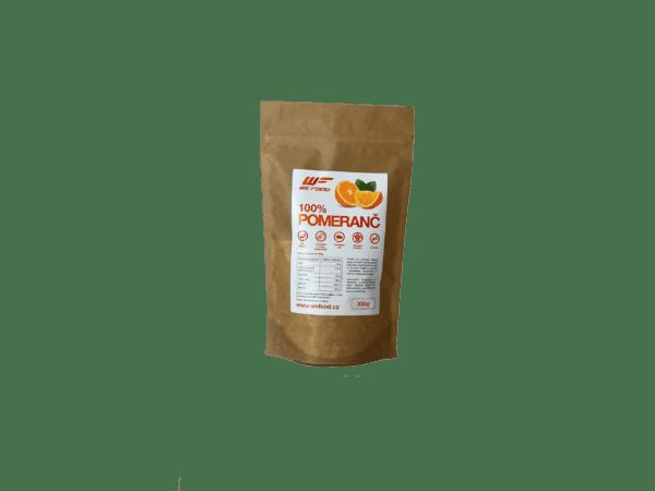 100% Sušený ovocný / zeleninový prášok 330g pomaranč