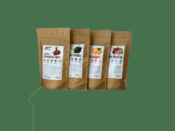 100% Sušený ovocný / zeleninový prášok 330g